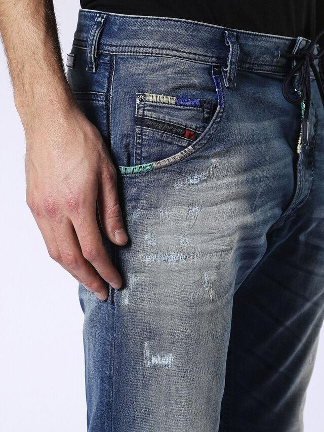Diesel - Krooley JoggJeans 0680Y, Medium blue - Jeans - Image 4