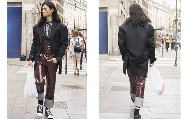 Red Tag - Glenn Martens | Look 1