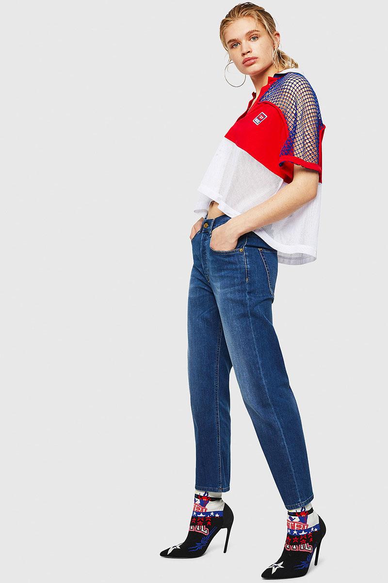 Diesel Jeans Woman Straight