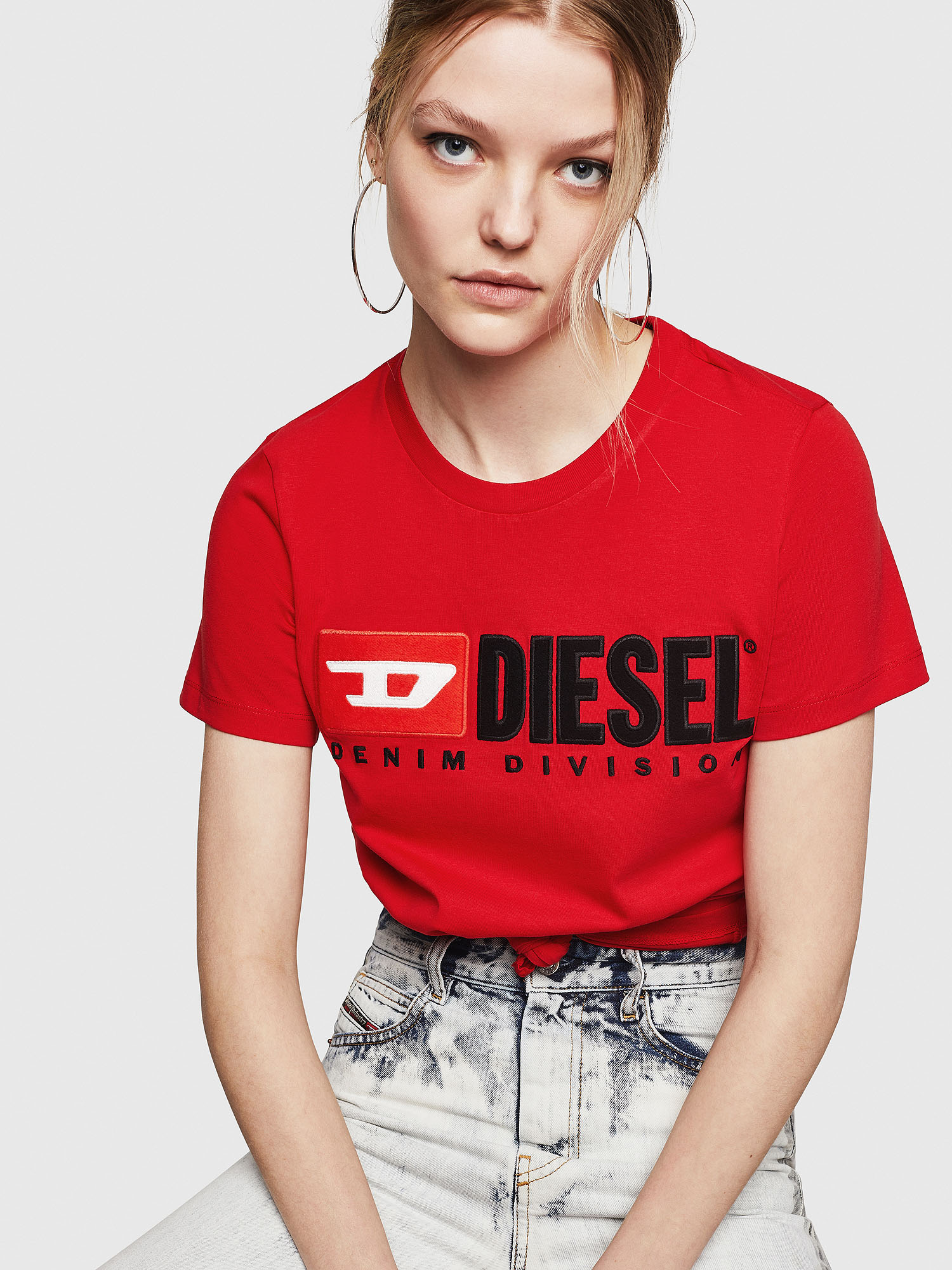 Diesel - T-SILY-DIVISION,  - T-Shirts - Image 4