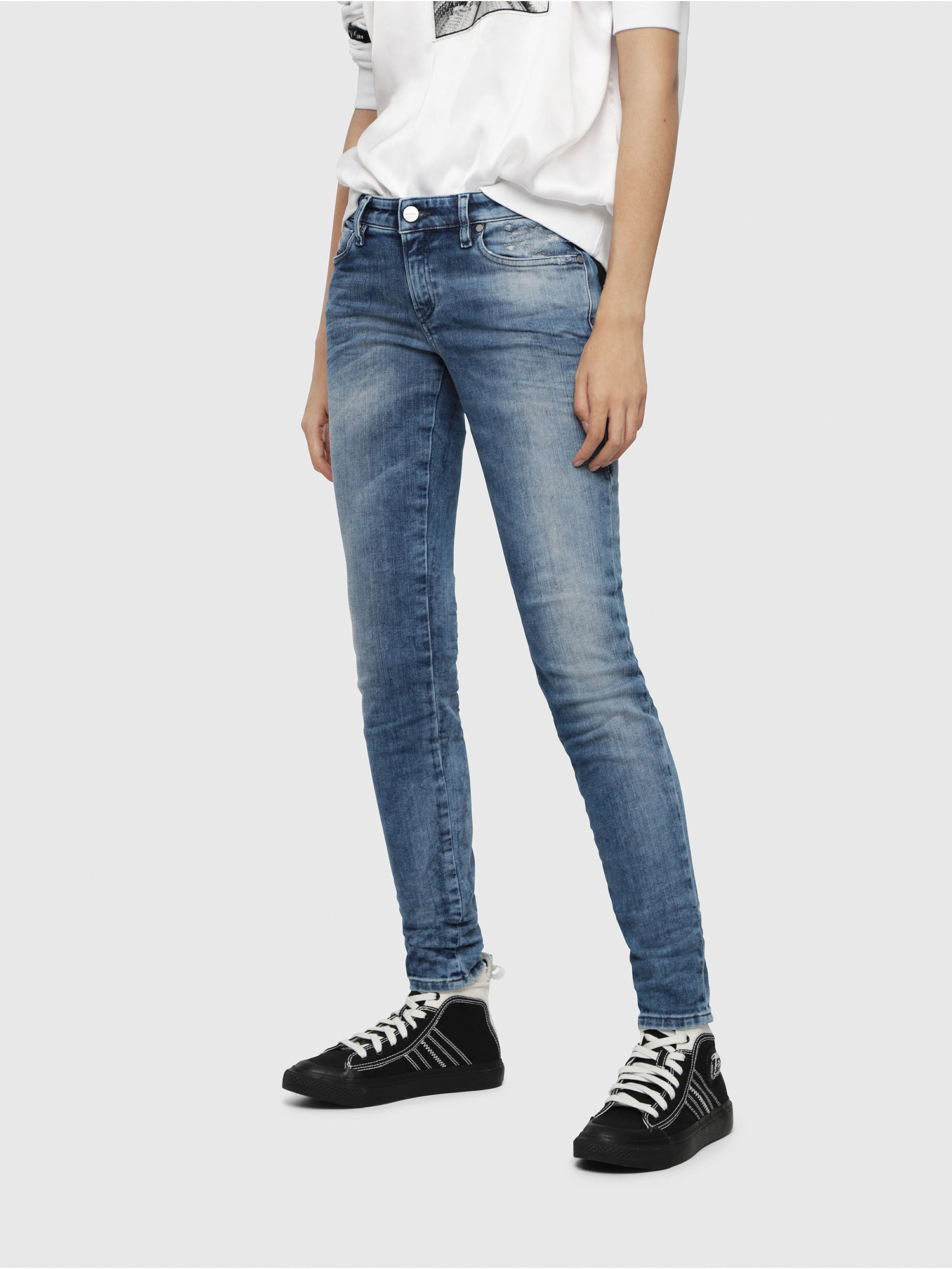 Diesel - Gracey JoggJeans 080AS,  - Jeans - Image 1