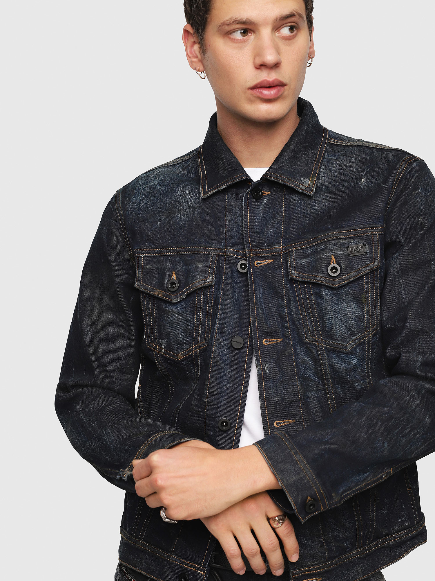 Diesel - CL-NHILL,  - Denim Jackets - Image 3