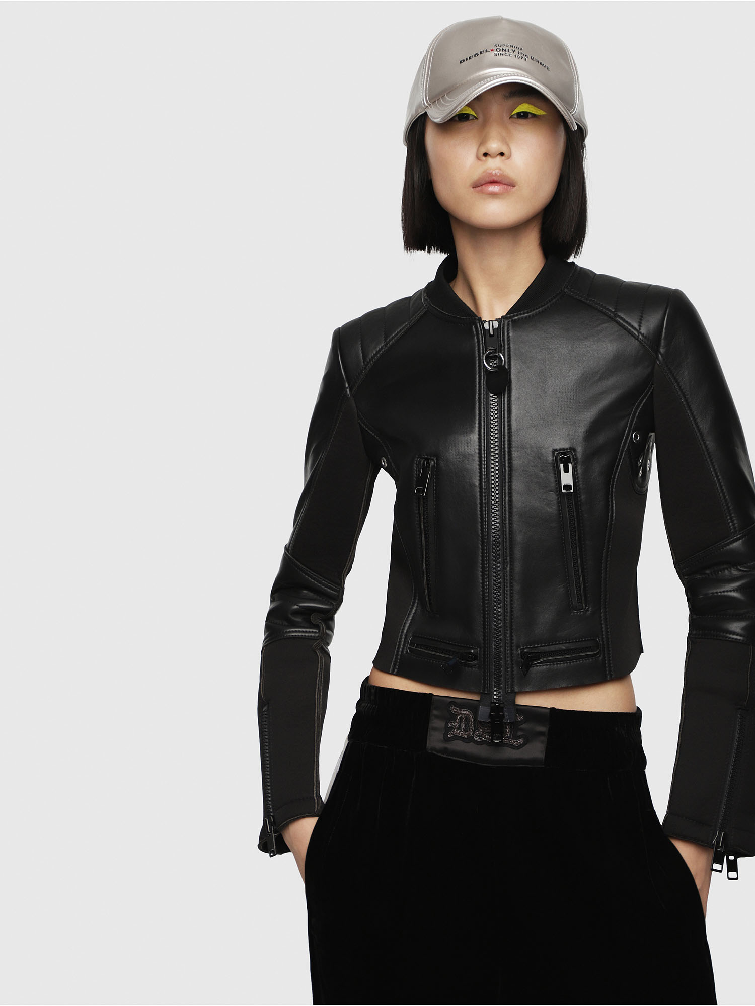 Diesel - L-MARI,  - Leather jackets - Image 1