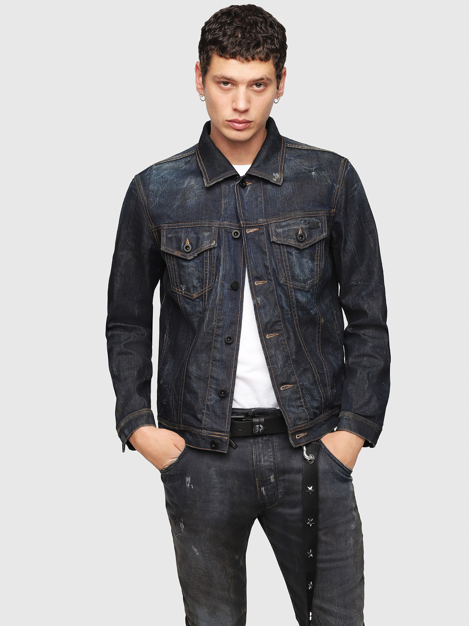 Diesel - CL-NHILL,  - Denim Jackets - Image 1