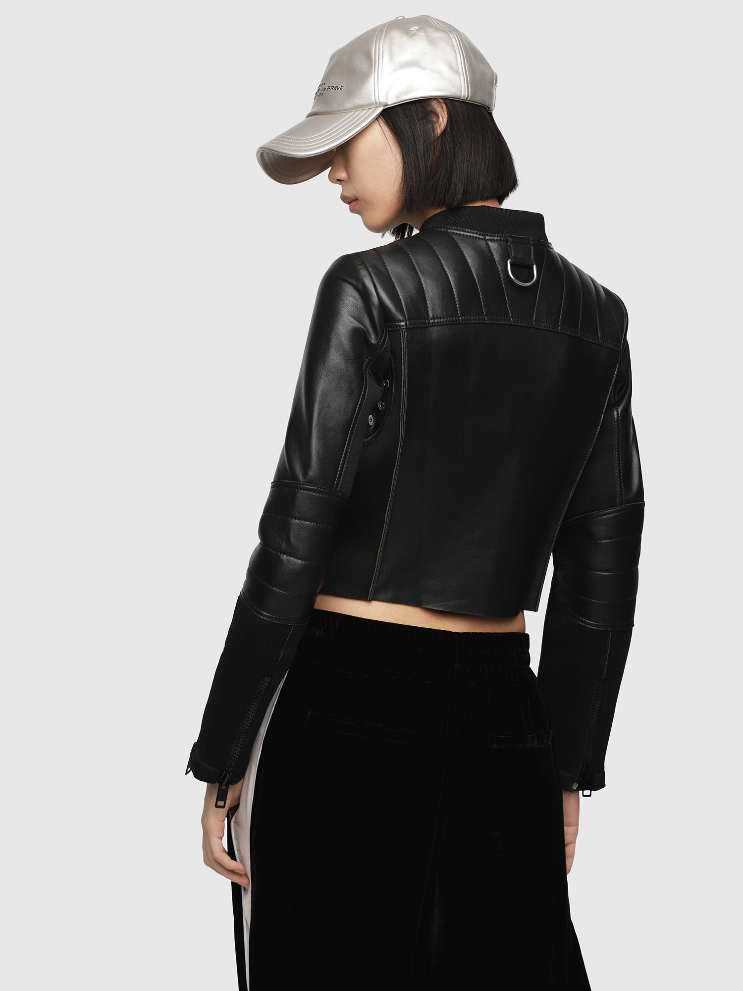 Diesel - L-MARI,  - Leather jackets - Image 2