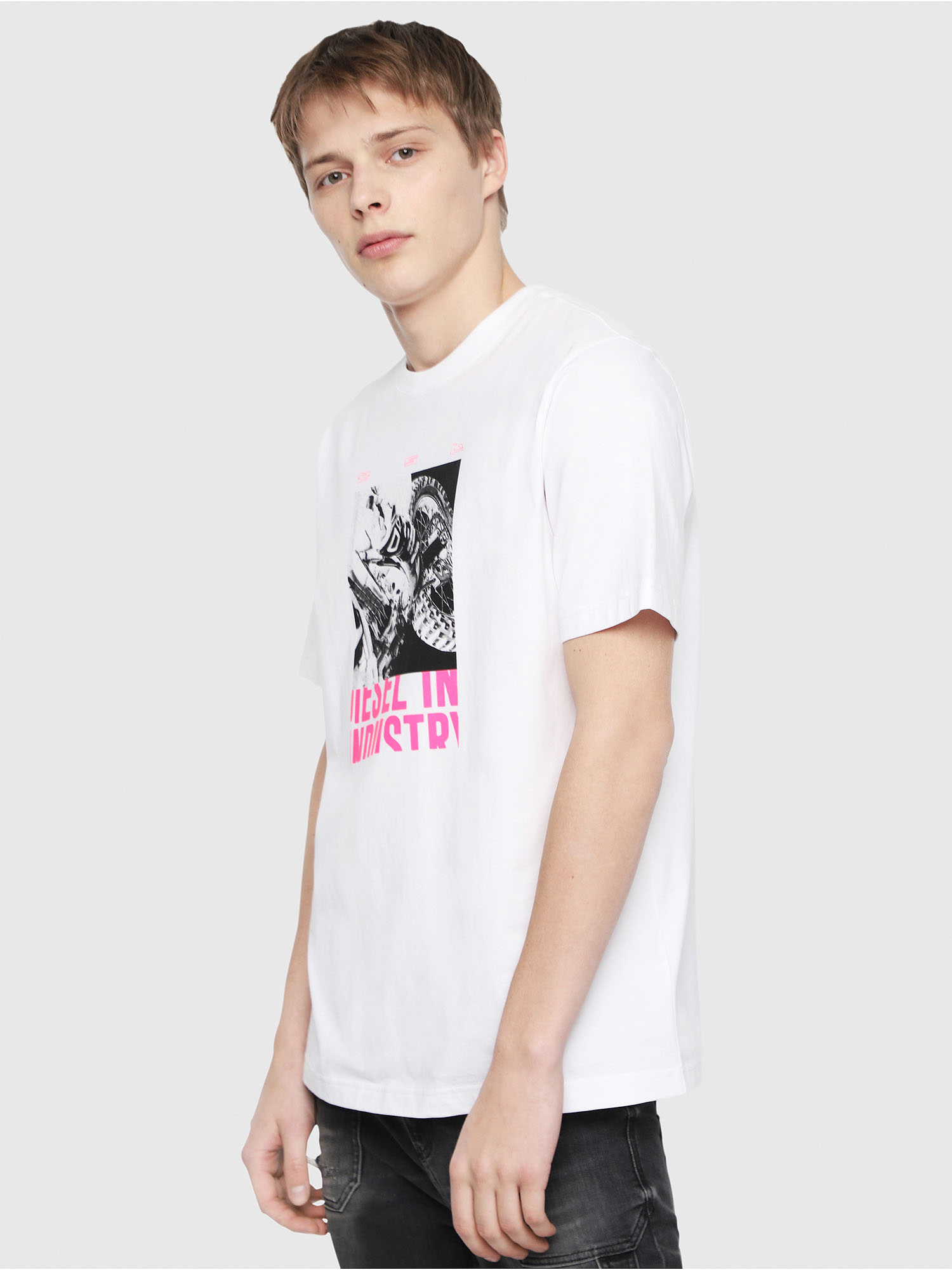 Diesel - T-JUST-Y3,  - T-Shirts - Image 1
