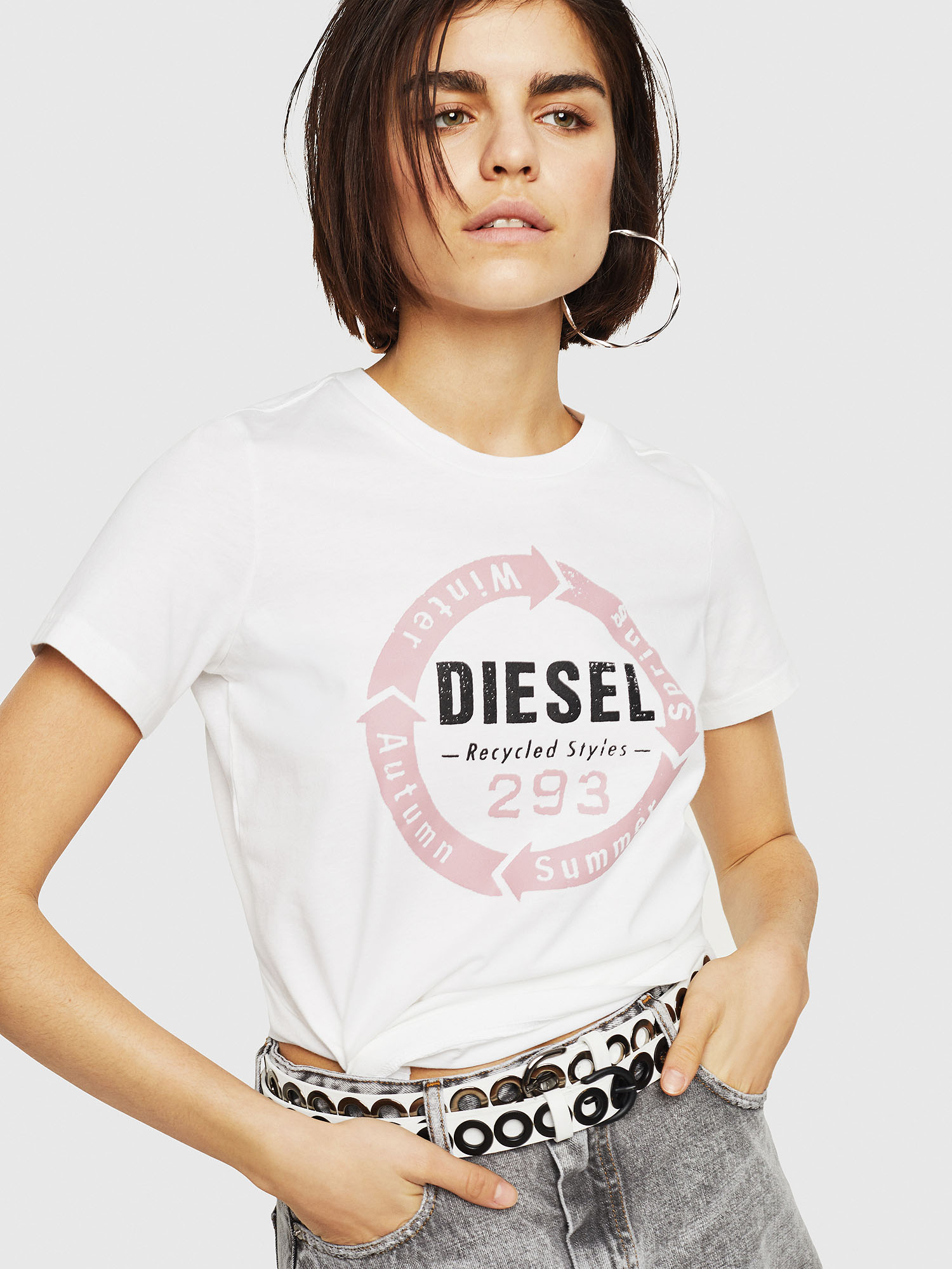 Diesel - T-SILY-C1,  - T-Shirts - Image 1